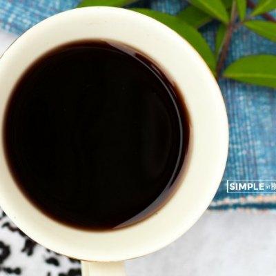 Elderberry tea recipe and the benefits of elderberry tea
