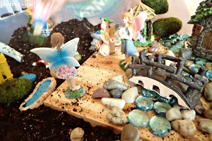 Fairy Garden Sensory Bin