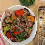 Chimi Marinaded Steak & Vegetable Skewers