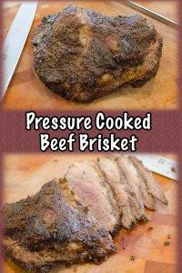 Pressure Cooker or Instant Pot Beef Brisket