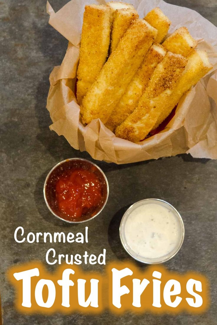 Cornmeal Crusted Tofu Fries
