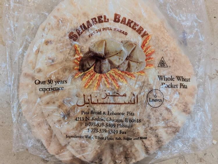 Pack of Whole Wheat Pita Pockets