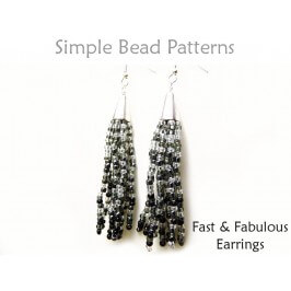 Learn How to Make Seed Bead Fringe Earrings Jewelry Making