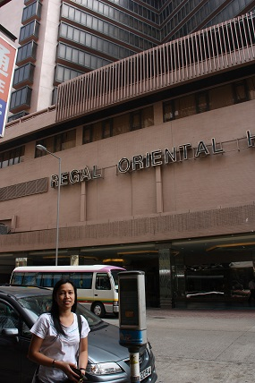 Regal Oriental Hotel at Kowloon