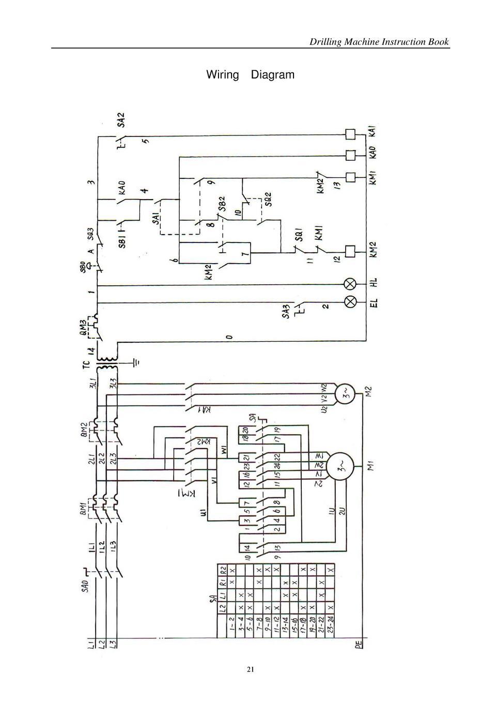 medium resolution of drilling machine instruction book wiring diagram 21