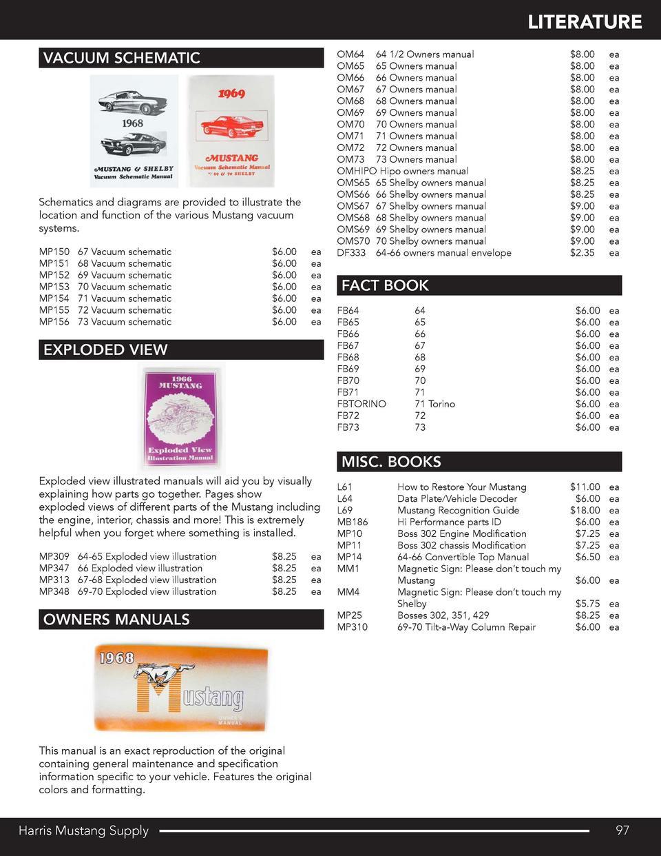 Harris Mustang Catalog : simplebooklet.com