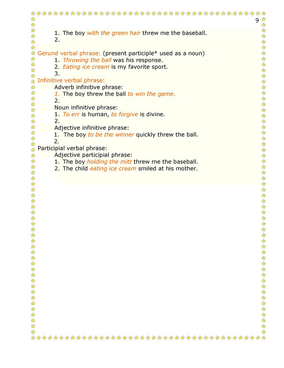 medium resolution of 13-14 Second Semester Grammar 1 : simplebooklet.com