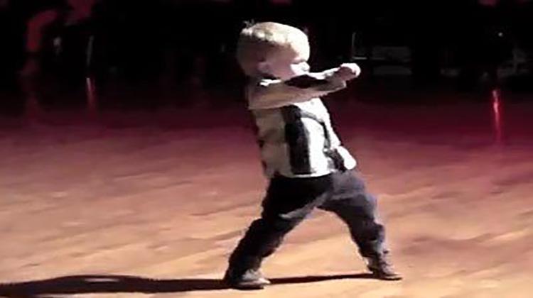 2YearOld Dances His Way Into Millions Of Hearts His