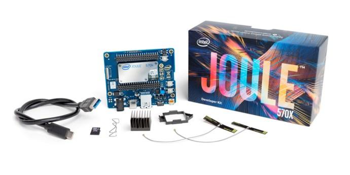 The Intel Joule developer kit
