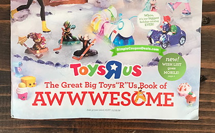 HOT Toys R Us 2016 Toy Catalog Great Big Book Of