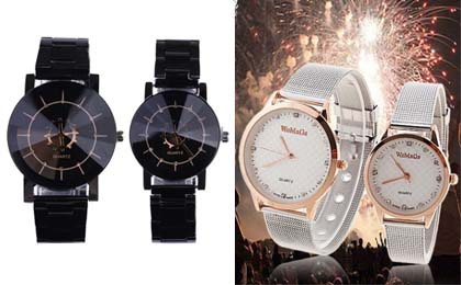 HOT His  Her Matching Watch Set 1516 Shipped  Simple Coupon Deals