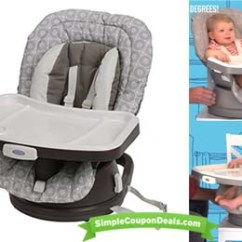 Target High Chair Graco Modern Pub Table And Chairs 3-in-1 Swivel Booster Seat $42.39 (orig $70) Shipped! - Simple Coupon Deals