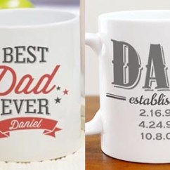 Kohls Zero Gravity Chair Wall Hugger Recliner Chairs Uk Personalized Father's Day Mugs $15.97 Shipped - Simple Coupon Deals