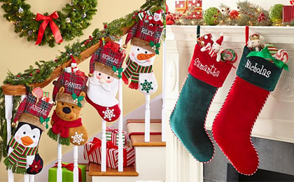 Personalized Christmas Stockings  As Low As 1199