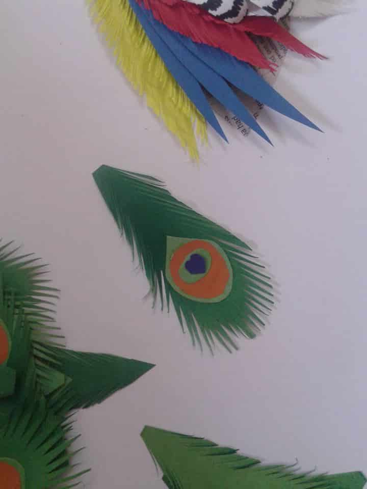 How To Make Paper Peacock Step By Step Simple Craft Ideas