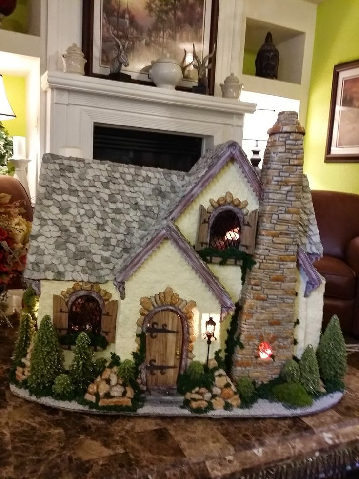 How to make house from paper mache  Simple Craft Ideas