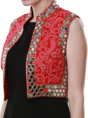 Different types of jacket style kurtis designs  Simple Craft Ideas