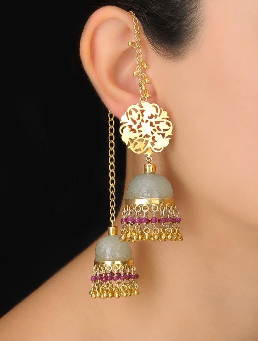 Different Types Of Kashmiri Jhumka Simple Craft Ideas
