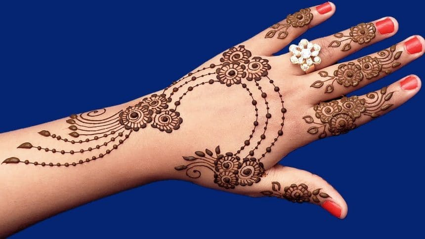 How To Apply Most Attractive Henna For Marriage Simple