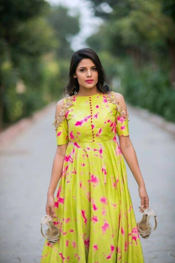 Yellow Dress Pakistani