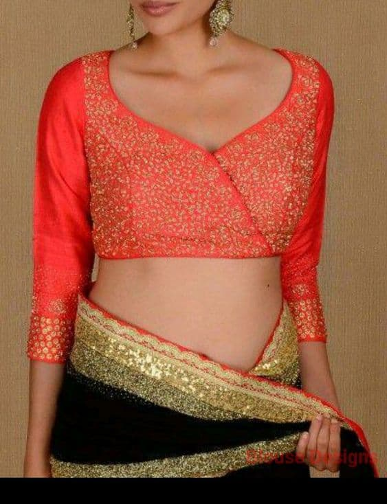 New Interesting Blouse Trends Indian Bride Simple Craft