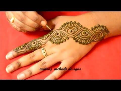 Very Simple And Easy Mehndi Designs For Hands