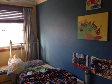 William's blue room