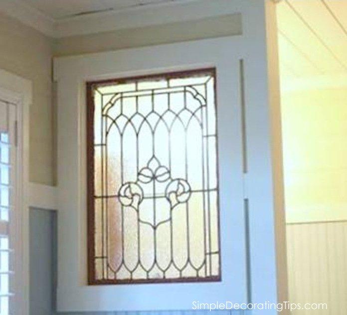 SimpleDecoratingTips.com interior window