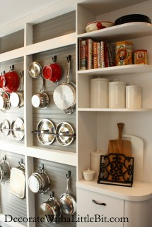 Amazing Diy Wall Pot Rack Hometocottage