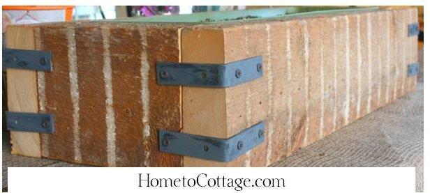HometoCottage.com DIY planter from scrap wood