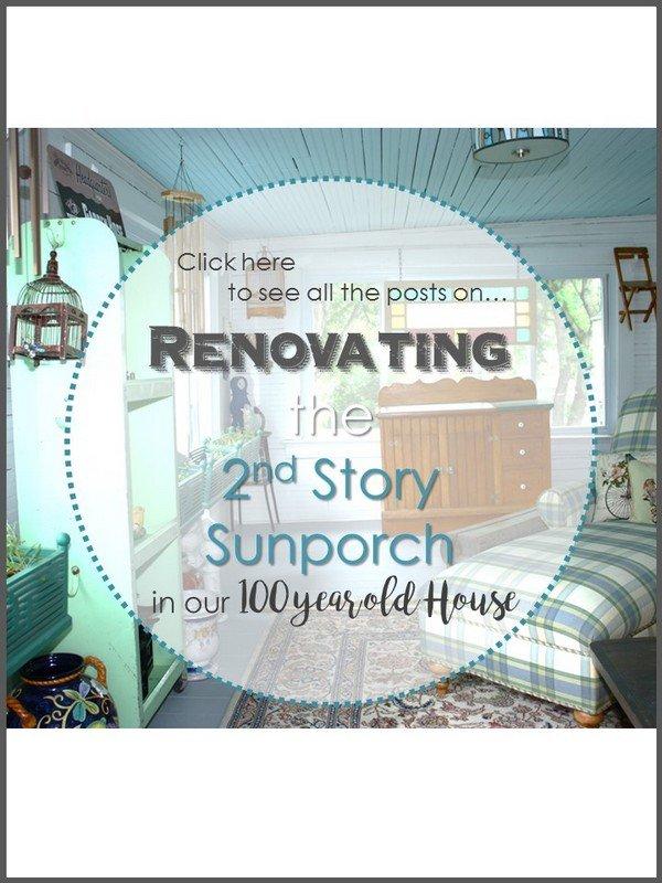 SimpleDecoratingTips.com Our 100 Year Old House, Sunporch