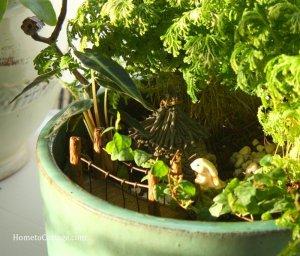 HometoCottage.com Miniature Garden