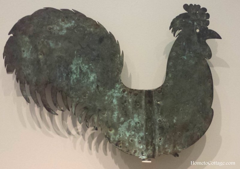HometoCottage.com simple copper rooster