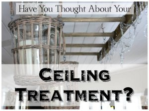 HometoCottage.com Have You Thought About Your Ceiling Treatment?