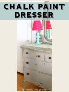 HometoCottage.com Chalkpaint Dresser Title