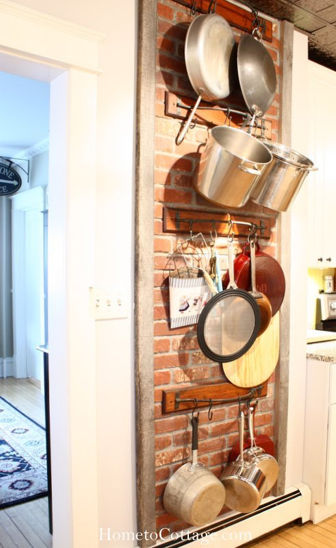 HometoCottage.com pot rack