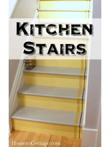 HometoCottage.com Kitchen Stairs