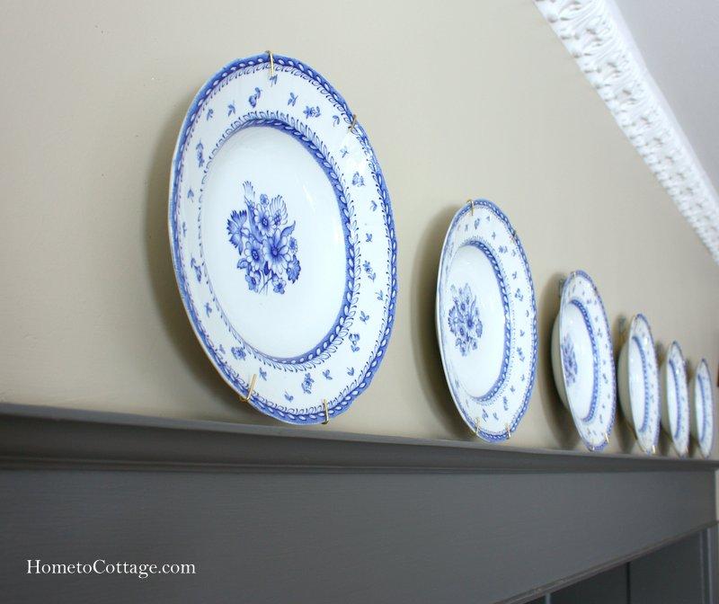HometoCottage.com plate rail