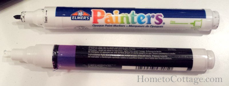 HometoCottage.com paint markers