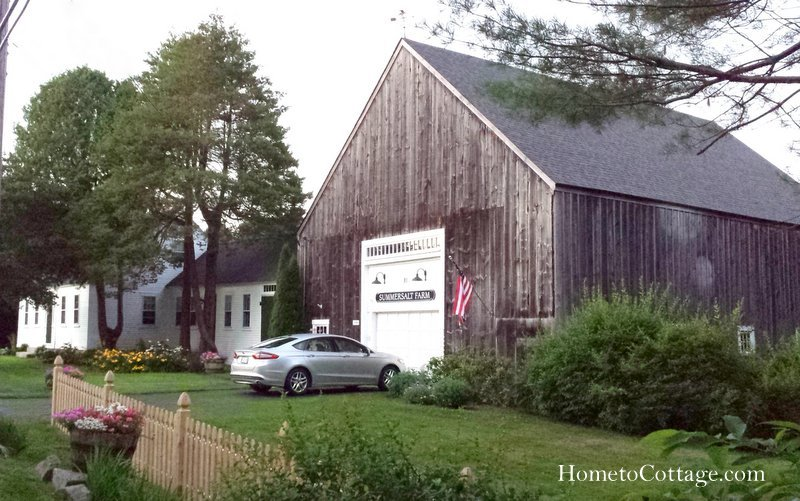 HometoCottage.com board and batten sided barn