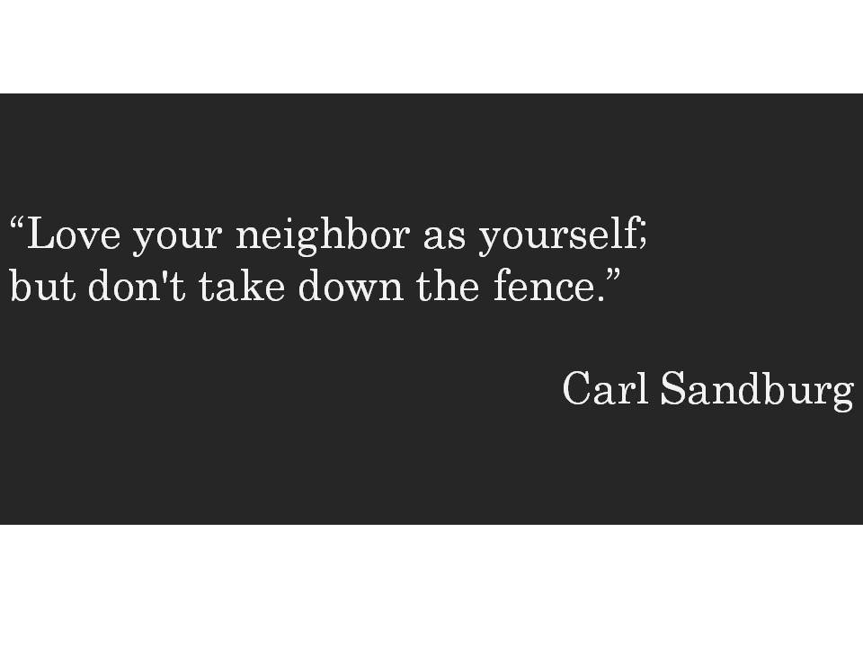 HometoCottage.com Carl Sandburg quote