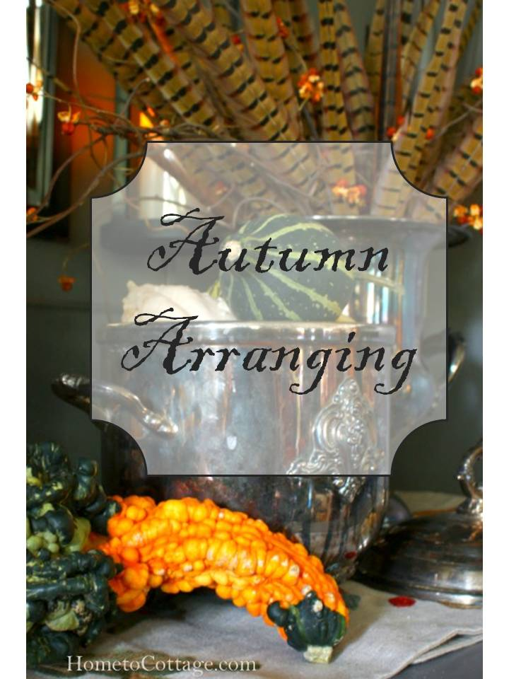 HometoCottage.com Autumn Arranging