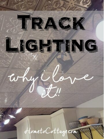 HometoCottage.com Track Lighting Why I love it