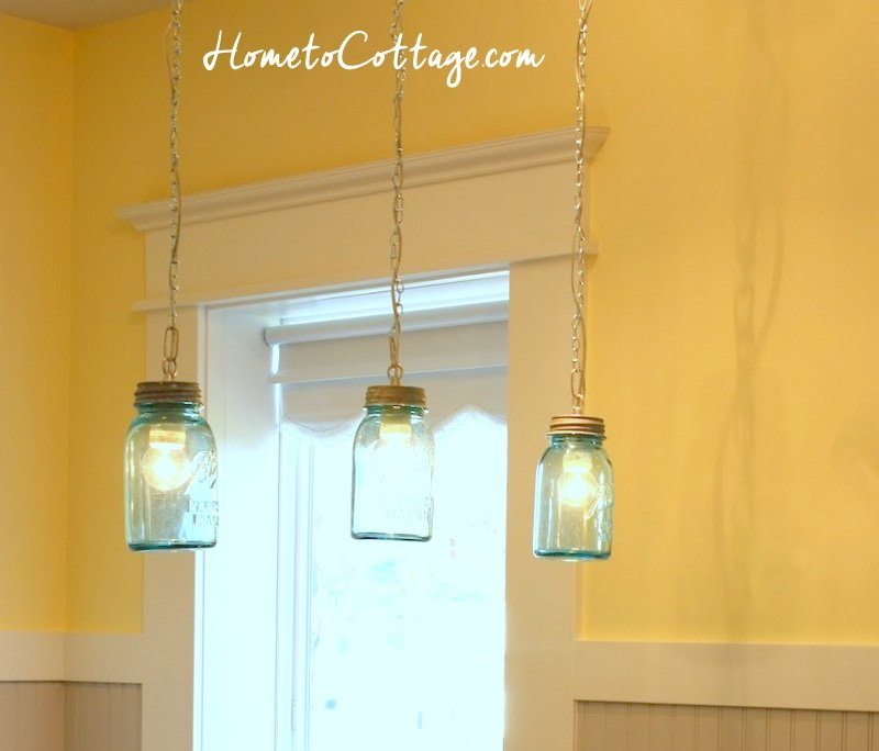 HometoCottage.com little brick cottage track light