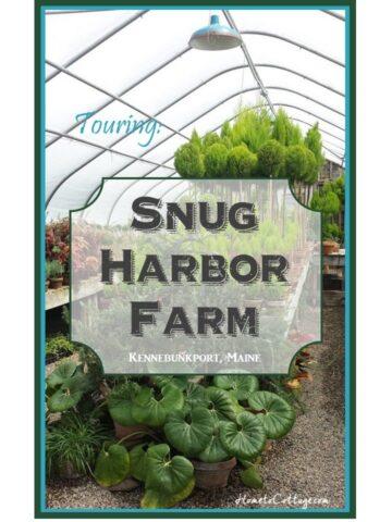 HometoCottage.com Touring Snug Harbor Farm Kennebunkport, Maine