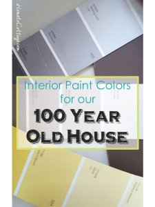 HometoCottage.com the Interior Paint Colors for Our 100 Year Old House