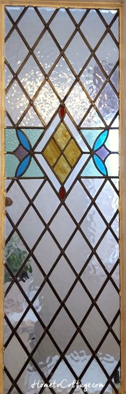 HometoCottage.com antique stained glass window