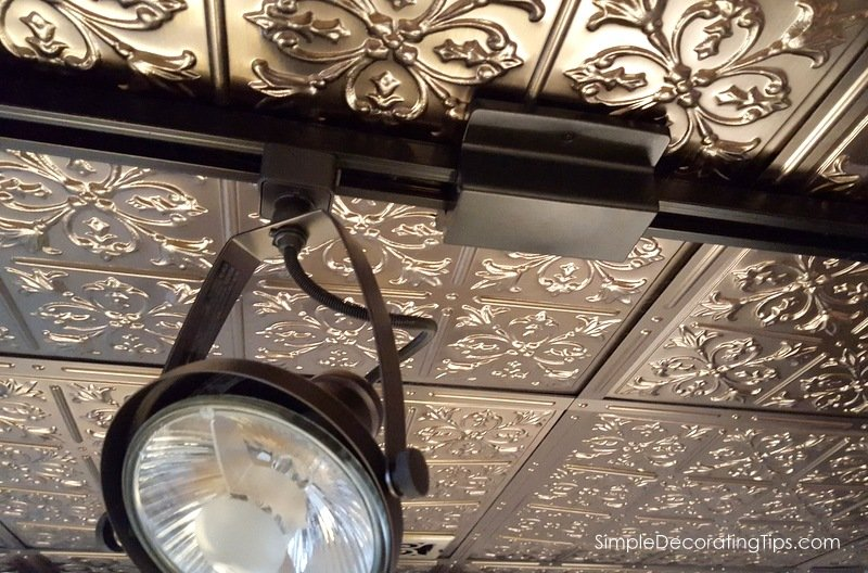 SimpleDecoratingTips.com any style light can mount on dropped ceiling