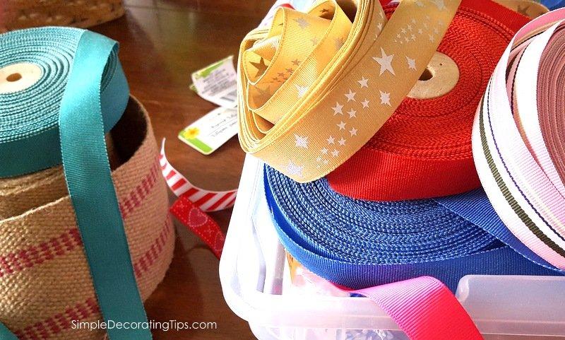 SimpleDecoratingTips.com Ebay ribbon