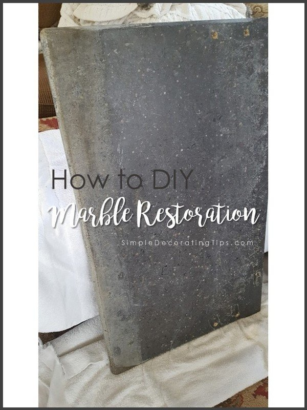 SimpleDecoratingTips.com How to DIY Marble Restoration